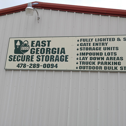 Our Facility – East Georgia Secure Storage